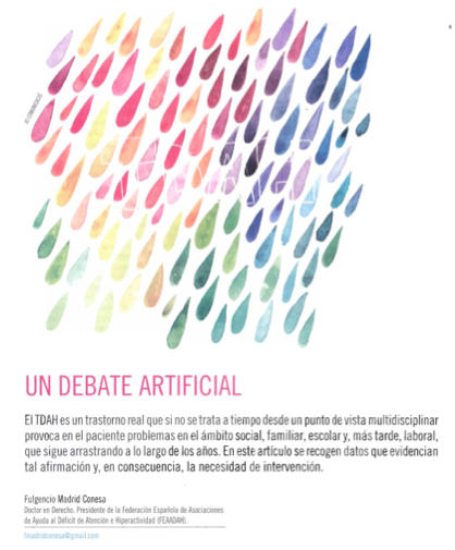 Un debate artificial